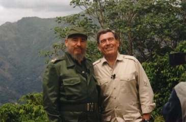 Fidel Castro and Dan Rather